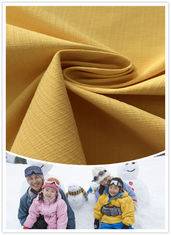 Two - Tone Look Stretch Polyester Fabric Comfortable Windproof For Outdoor Jacket
