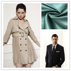 55% P 45% V Twill Inner Lining Fabric Small Shrinkage Excellent Color Fastness