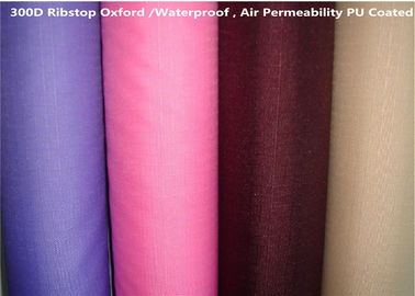 100%P Coated Oxford Fabric Waterproof 57/58'' Jacquard Style For Outdoor Tent