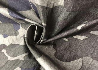 Crease Resistant Graphic Print Fabric , Light Breathable Camouflage Print Fabric
