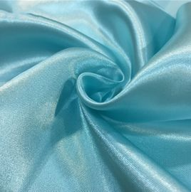 Cloth Lining Lightweight Chiffon Fabric , Colorful Polyester Chiffon Fabric