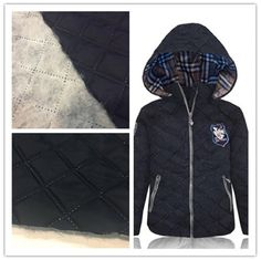 300T Wind Proof Cotton Nylon Fabric Smooth Surface For Cotton - Padded Jacket