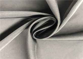 100% Coated Polyester Fabric 2/1 Twill Twisted Coating Memory Fabric For Wind Coat