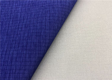 China Ripstop Cationic Super Stretch Fabric Waterproof Membrane Bonding In Dark Blue supplier